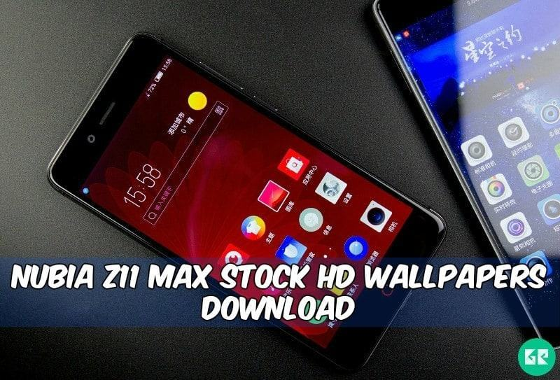 Zte Nubia Z11 Max Stock Wallpapers