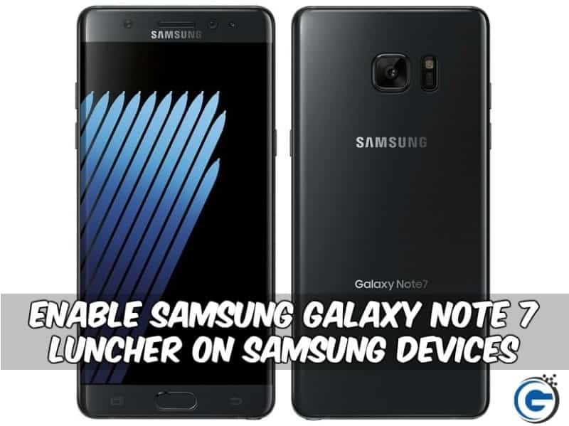 GraceUX-samsung Galaxy Note 7 Luncher On Samsung Device