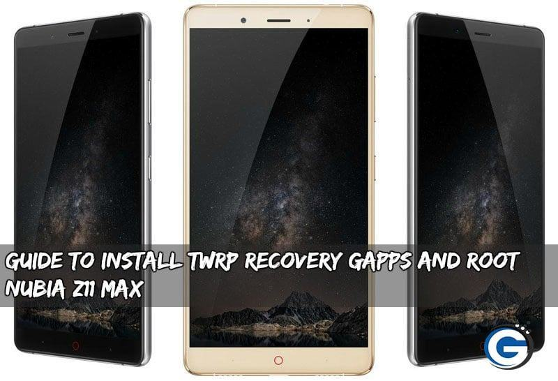Root Nubia Z11 Max