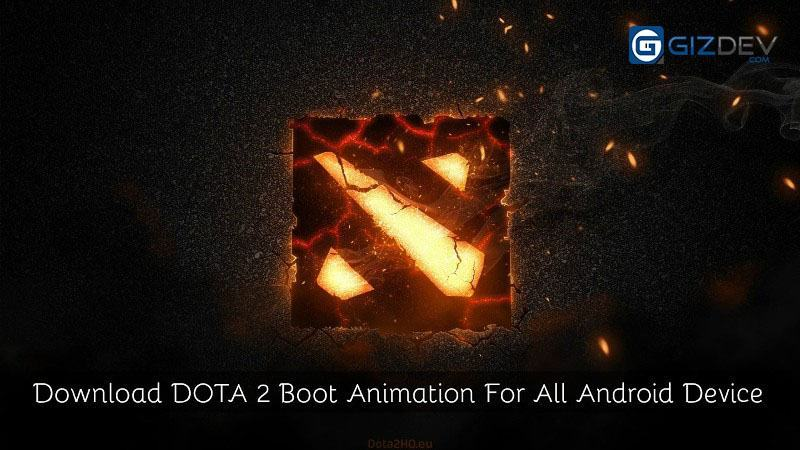 DOTA 2 Boot Animation