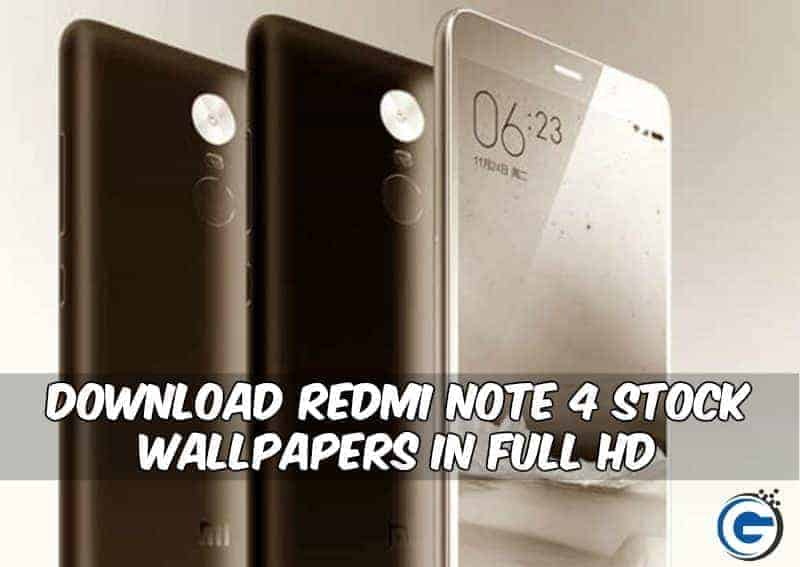 Redmi Note 4 Stock Wallpapers