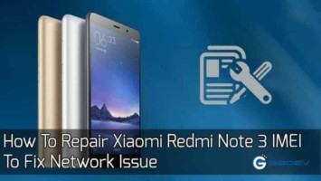 Repair Xiaomi Redmi Note 3 IMEI
