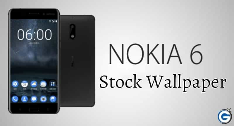 Nokia 6 Stock Wallpaper