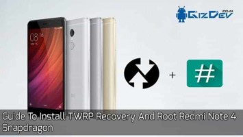 Root Redmi Note 4 Snapdragon
