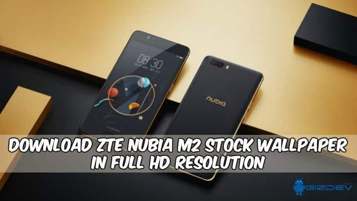 ZTE Nubia M2 Stock Wallpaper