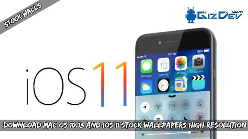 MAC OS 10.13 and iOS 11 Stock wallpapers High Resolution