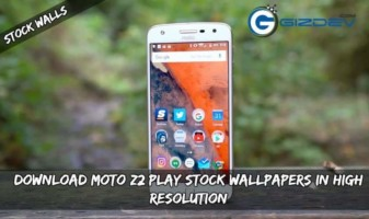 Moto Z2 Play Stock Wallpapers In High Resolution