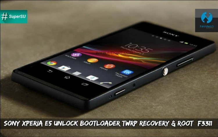 Sony Xperia E5 Unlock Bootloader Twrp Recovery & Root (F3311)