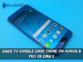 Guide To Enable Dark Theme On Honor 8 Pro Or EMUI 5