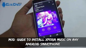 [MOD] Guide To Install Xperia Music On Any Android Smartphone