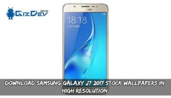 Download Samsung Galaxy J7 2017 Stock Wallpapers In High Resolution
