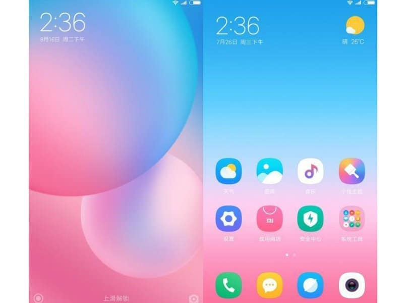 Xiaomi MIUI 9 Launcher APK For Android