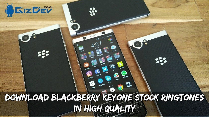 Download Blackberry Keyone Stock Ringtones