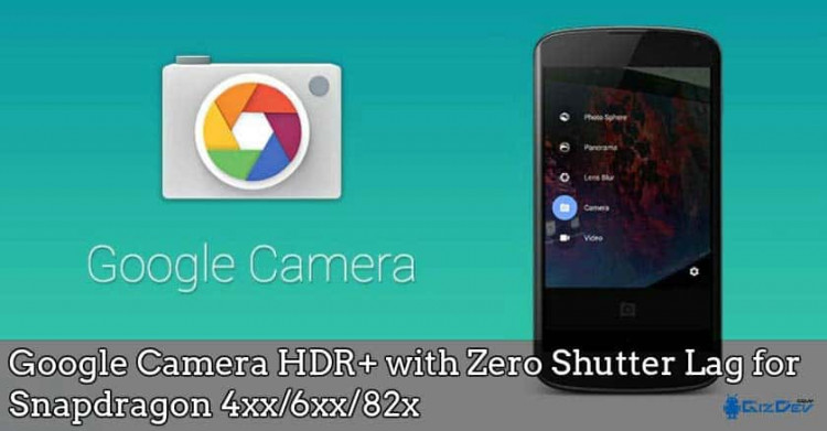 Download Google Camera HDR+