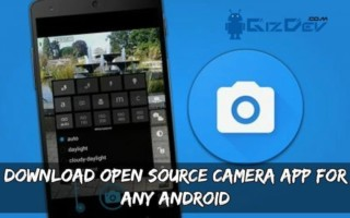 Download Open Source Camera App For Any Android