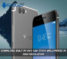 Download Built In Vivo X20 Stock Wallpapers In High Resolution