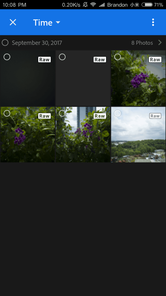 Capture RAW Image In MiUI Running Device