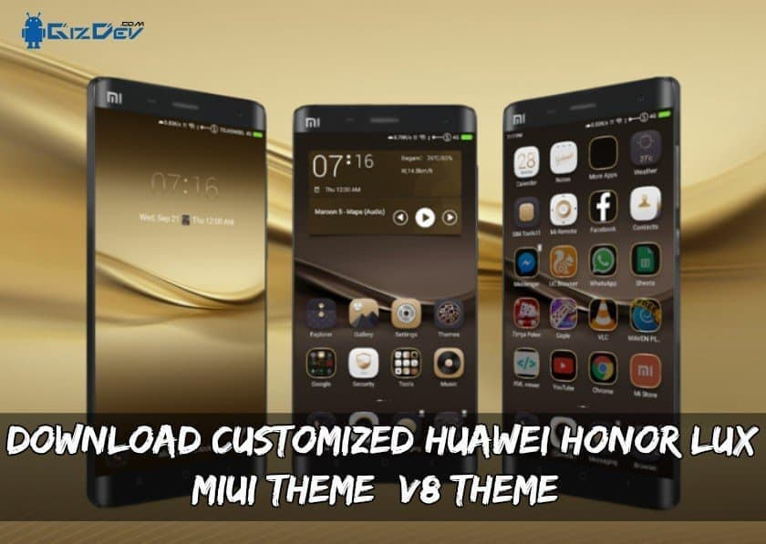 Honor LUX MIUI Theme