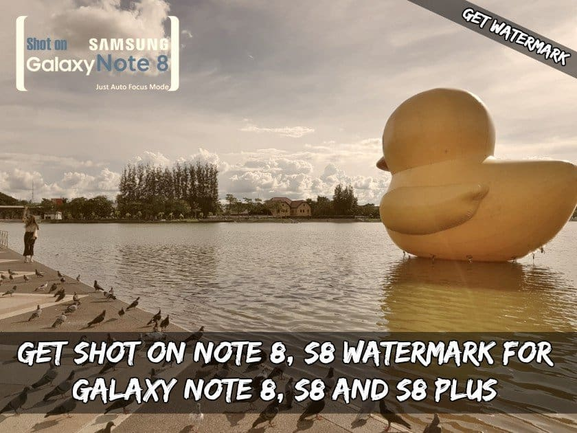 Camera Watermark For Galaxy Note 8