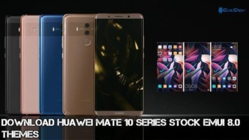 Download Huawei Mate 10 Stock Themes