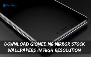 Download Gionee M6 Mirror Stock Wallpapers In High Resolution