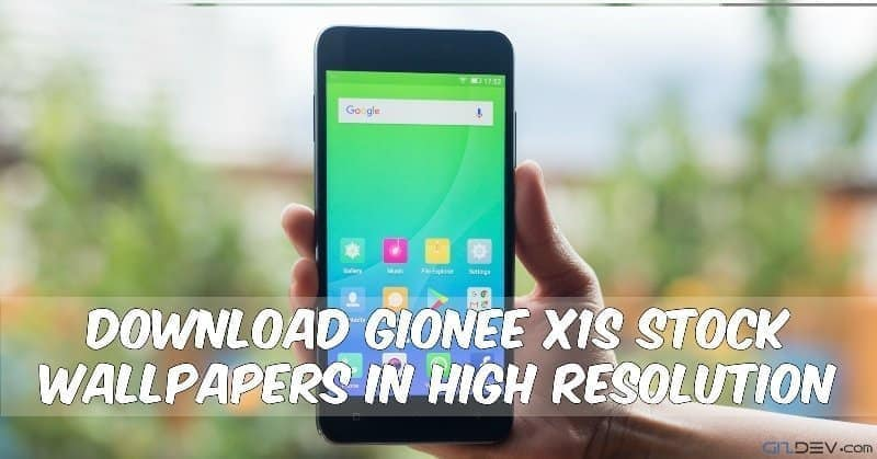 Gionee X1S Stock Wallpapers In High Resolution