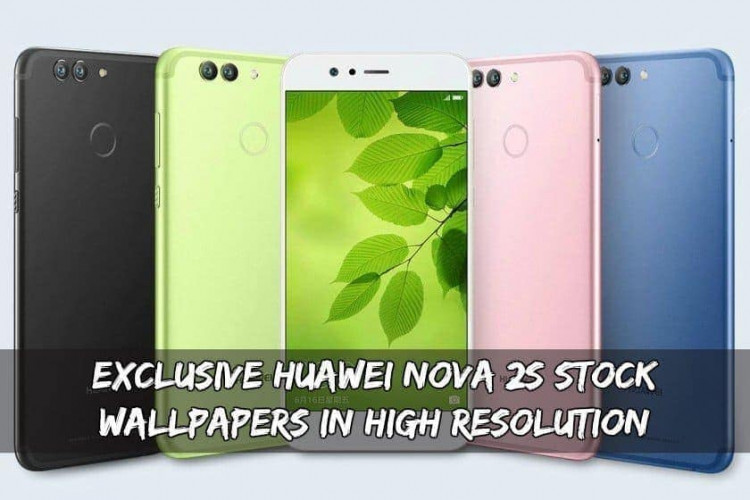 Exclusive Huawei Nova 2S Stock Wallpapers In High Resolution