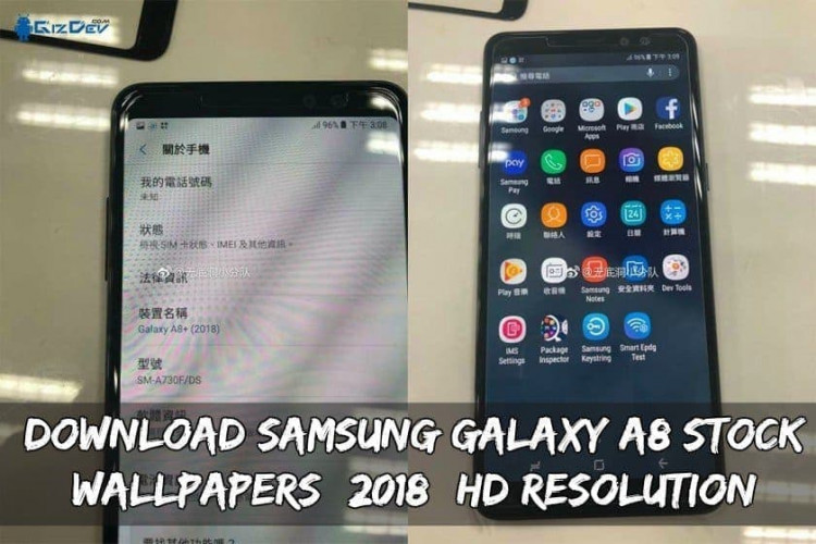 Download Samsung Galaxy A8 Stock Wallpapers (2018) HD Resolution