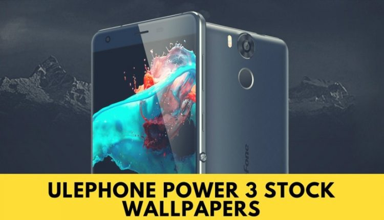 Ulephone power 3 stock wallpapers