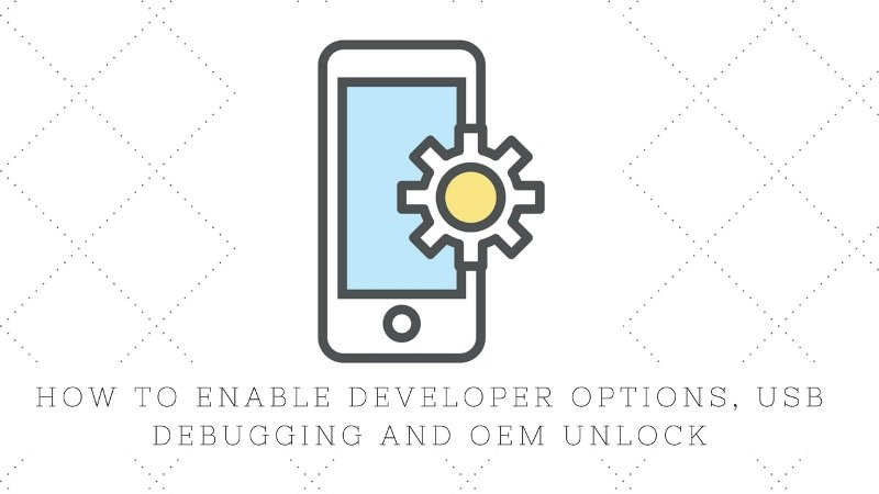 Enable developer options