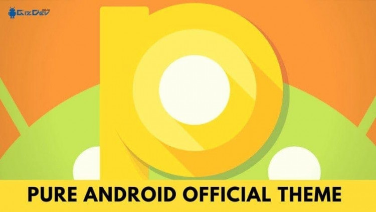 Download Official Pure Android P Theme For MIUI Devices