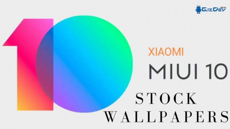 MIUI 10 Stock Wallpapers