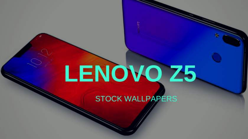 Lenovo Z5 Stock Wallpapers In HD Resolution