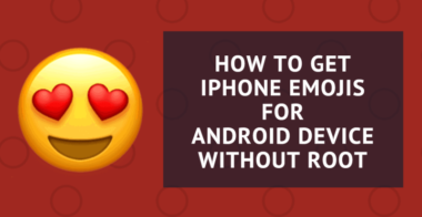 Get iPhone Emojis For Android Device