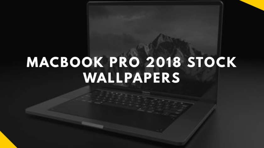 Macbook pro 2018 stock wallpapers