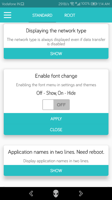 ChangeFont On Huawei/Honor