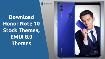 Honor Note 10 Stock Themes