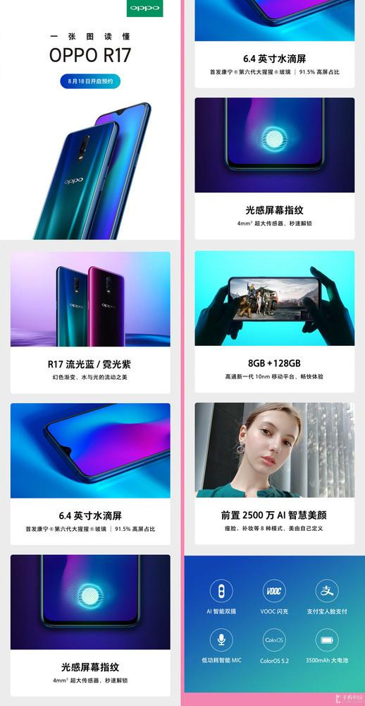 Oppo R17 and R17 Pro