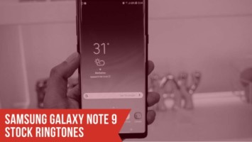 Download Exclusive Samsung Galaxy Note 9 Stock Ringtones. Follow the post to know Galaxy Note 9 specifications. Galaxy Note 9 ringtones.