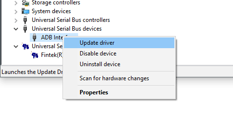 Huawei Android Driver