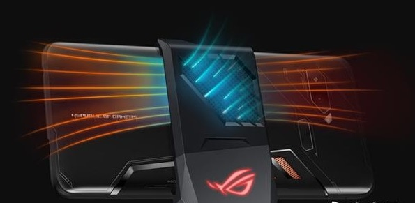 ASUS ROG Gaming Mobile Phone heat releasing