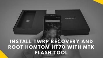 Install TWRP Recovery And Root HOMTOM HT70 With MTK Flash Tool. Follow the post to root HOMTOM HT70