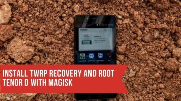 Install TWRP Recovery And Root Tenor D With Magisk. Follow the post to root 10 OR D