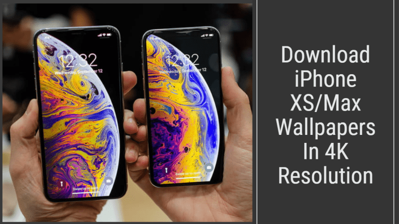 iPhone XS Stock Wallpapers