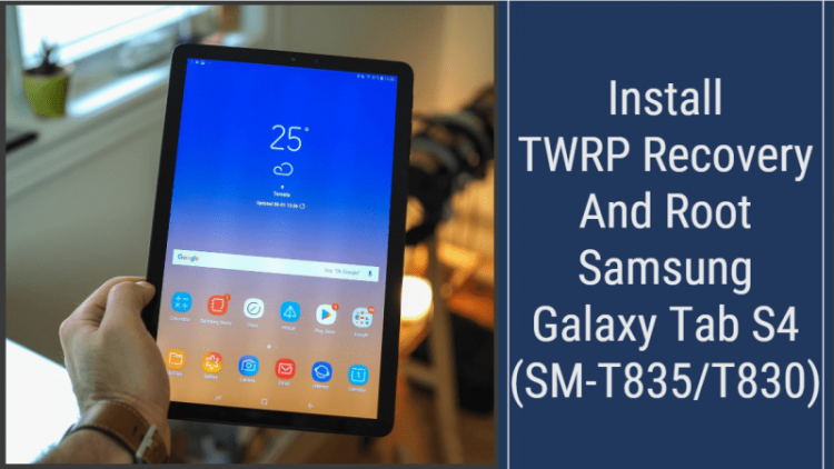 Root Galaxy Tab S4