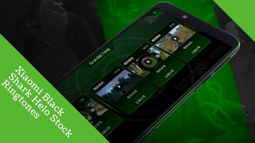 Download Xiaomi Black Shark Helo Stock Ringtones In High Quality. Follow the post to get, Xiaomi Black Shark Helo Ringtones.
