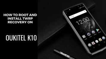 How To Root Oukitel K10 And Install TWRP Recovery. Follow the post to get root on Oukitel K10. Follow steps correctly.