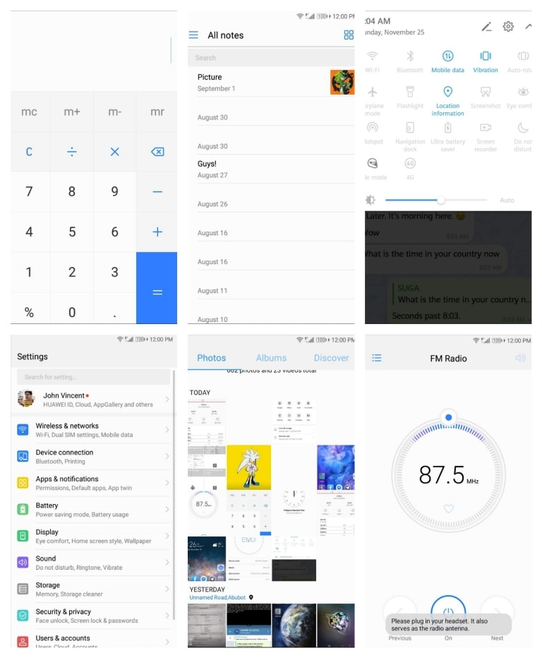 EMUI 9 Default Themes