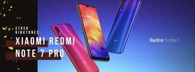 Download Xiaomi Redmi Note 7 Pro Stock Ringtones (Theme Ringtones)