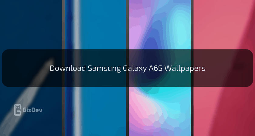 Download Samsung Galaxy A6S Stock Wallpapers In High Resolution